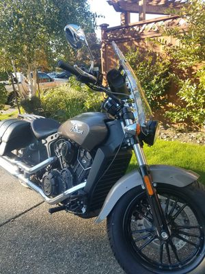 Brand New!!! 2018 Indian Scout Motorcycle With 1,200 Original Miles! Factory Warranty! Upgrades! Clean Title In Hand! for Sale in Seattle, WA