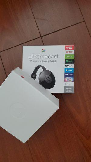 Google Chrome cast chromecast assistant tv streaming for Sale in Garden Grove, CA
