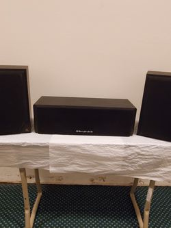 SMALL, High-Quality, 3-SPEAKER AUDIO SYSTEM - Price for ALL SPEAKERS together; or Buy separately as priced in details. for Sale in Arlington,  VA