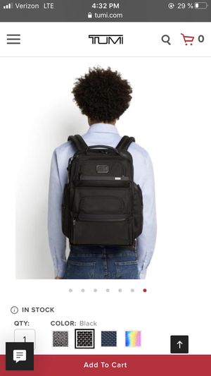 Brand New TUMI Backpack - Brief Pack Model - Best seller - MSRP $525 for Sale in Evanston, IL