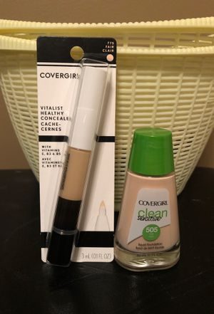 Covergirl ivory foundation and fair concealer for Sale in Hamburg, NY