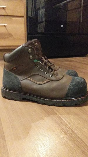 Worx by Red Wing size 11. Mens Gravel Work Boot Size 8 Electrical Hazard Puncture-Resistant Steel Toe Excellent Condition for Sale in Denver, CO