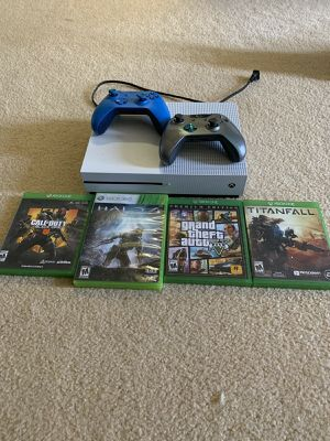 1TB Xbox One S with games for Sale in Los Angeles, CA