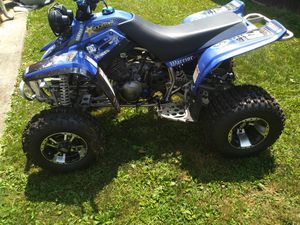 For sale 2004 warrior 350 runs like new and has reverse ..lots of aftermarket part and rims clean title and license plate ready to go for Sale in Ephrata, PA