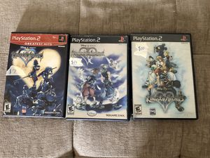 PS2 Kingdom Hearts Bundle $25 Complete for Sale in Alafaya, FL