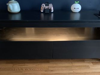 TV Stand with storage drawers and custom LEDs for Sale in Herndon,  VA
