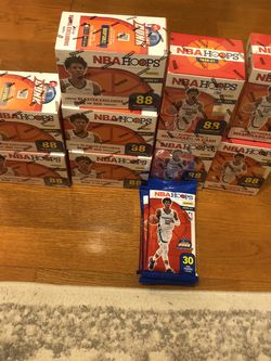 BRAND NEW SEALED NBA HOOPS 20-21 LOT for Sale in Damascus,  OR