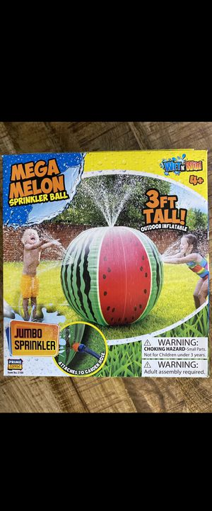 Mega Watermelon Sprinkler💦💦💦 for Sale in El Paso, TX