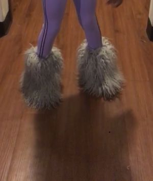 Famous fluffy boots for Sale in St. Louis, MO