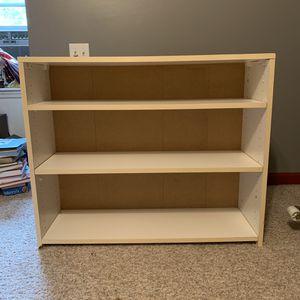 White bookeshelf for Sale in Smyrna, TN