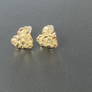 925 Sterling Silver with 14k Gold Finish screw back new for Sale in Los Angeles, CA