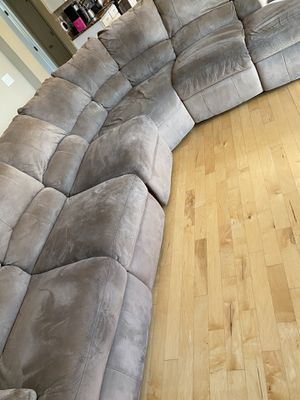 Sectional couch / reclining for Sale in Tampa, FL