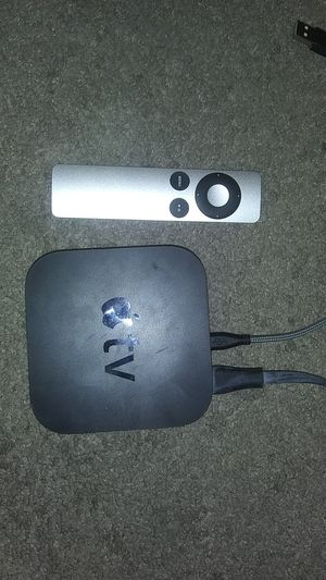 Apple TV box and remote for Sale in Las Vegas, NV