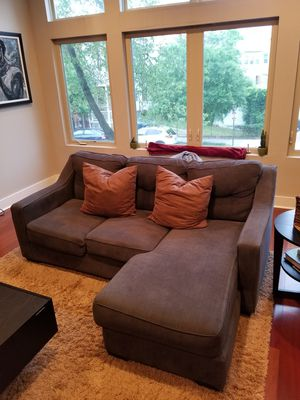 Ashley Furniture Chaise Sectional for Sale in Washington, DC