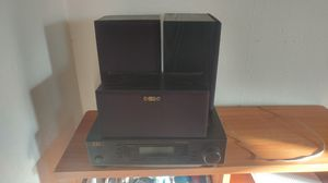 Stereo with speakers home theater a/v amplified controller for Sale in Portland, OR
