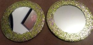 Glitter mirror coasters for Sale in Peoria, IL