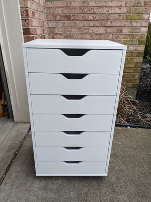Brand New Winsome Halifax Wood Storage Cabinet with 7 Drawers in White for Sale in Cincinnati, OH