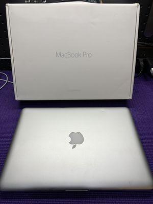 "2012 MacBook Pro 13"" 2.5 GHz i5 8 GB RAM 240 GB SSD 500 GB HD for Sale in Washington, DC"