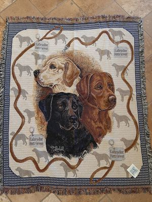 Labrador Tapestry Throw for Sale in Norco, CA