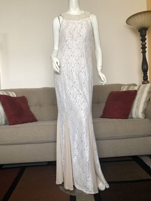 Sleeve-less White Dress, Size 10 for Sale in San Jose, CA