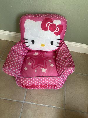 Hello kitty bean bag chair for Sale in Midlothian, TX