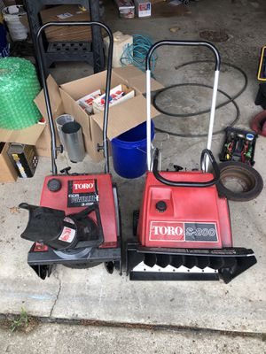 Two Toro Snowthrowers 75! for Sale in Cleveland, OH