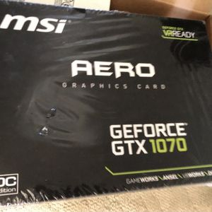 MSI Aero GTX 1070 Graphics Card for Sale in Milwaukie, OR