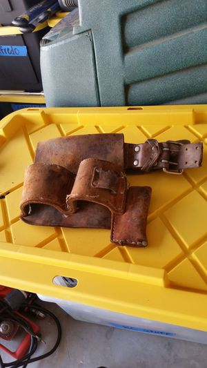 Belt with hammer attached for Sale in Moreno Valley, CA