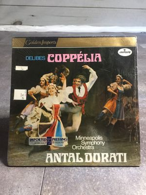 Delibes: Coppélia - Minneapolis Symphony Orchestra, Antal Dorati (Golden Imports) Double LP for Sale in Poway, CA