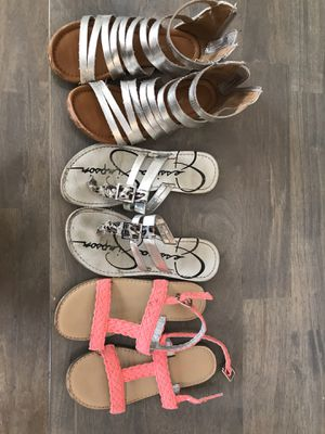 Girls Size 12 sandals for Sale in Ashburn, VA