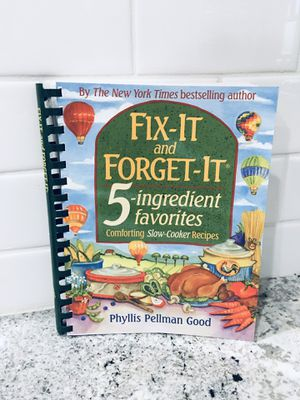 Fix It & Forget It Cookbook for Sale in Phoenix, AZ