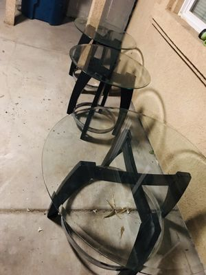 3 coffee tables for Sale in Las Vegas, NV