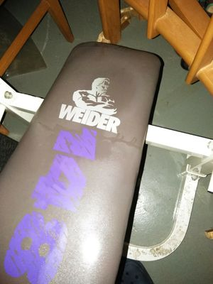 Weider weight bench for Sale in St. Louis, MO