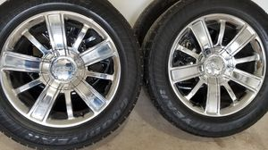 Chevy Rims 20s for Sale in Houston, TX
