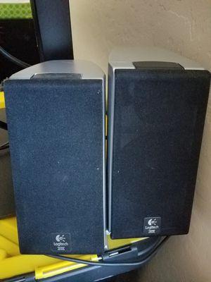 Logitech Z2300 THX certified 2.1 speaker system for Sale in Chandler, AZ