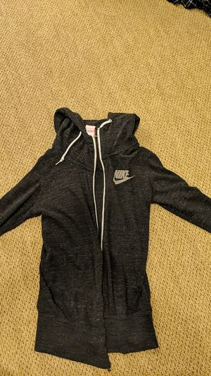 Nike zip up, grey for Sale in Pacifica, CA