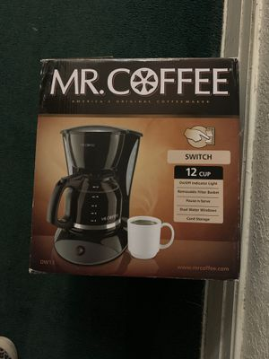 Coffee Maker - Mr.Coffee 12cup basic for Sale in Los Angeles, CA