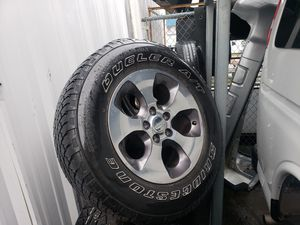 Jeep Wrangler wheels/tires for Sale in Everett, WA