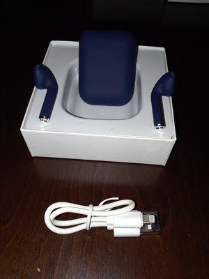 New Wireless Earphones dark blue for Sale in Vernon, CA