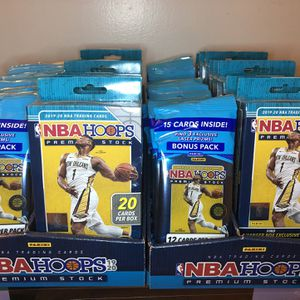 2019-2020 Panini NBA Hoops Trading Cards for Sale in Stanton, CA