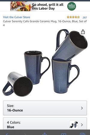 Tall 16 Ounce Coffee Mugs for Sale in Manassas, VA