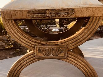 """Classical beautiful, fashionable and comfortable sofa stool, Dimensions: high 20 """"length 24"""" Deep19"""" for Sale in Seal Beach,  CA"""