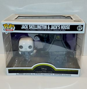 Disney Jack Skellington & Jacks House Funko Pop! for Sale in Lacey, WA