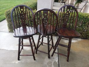 Wooden Bar Stools for Sale in Fontana, CA