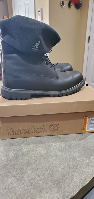 Men's Timberland Boots Size 12 for Sale in Youngsville, NC