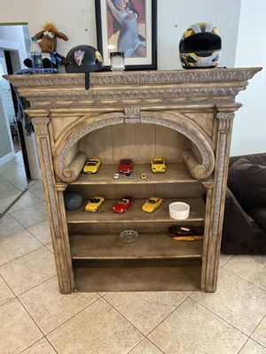 Solid wood tv rack and bookrack for Sale in Pompano Beach, FL