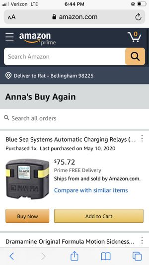 Charging relay for Sale in Bellingham, WA