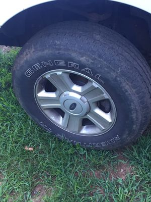 """04, f150, 17"" tires and rims for Sale in Amherst, VA"