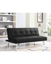 Living Spaces Black Sleeper sofa $220 free delivery for Sale in Mission Viejo, CA