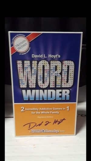 Word winder board game for Sale in Tonawanda, NY